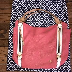 💗💗Oryany Brand New Pink Leather Large Tote Bag